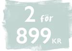 Bäddset Linnemix 140x200 cm Havsblå