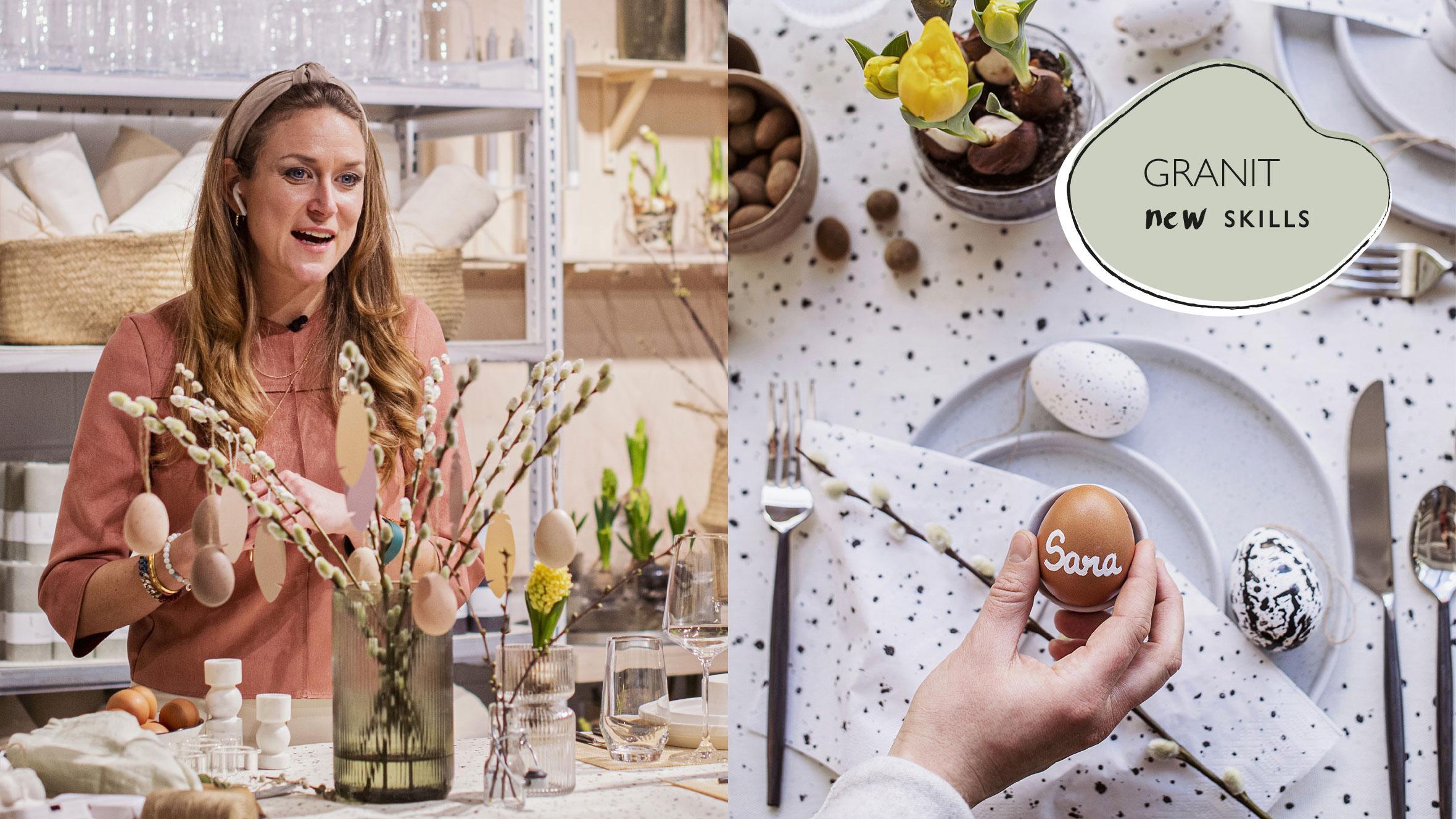 Duka med färglära – Saras Garantys bästa stylingtips för det dukade bordet