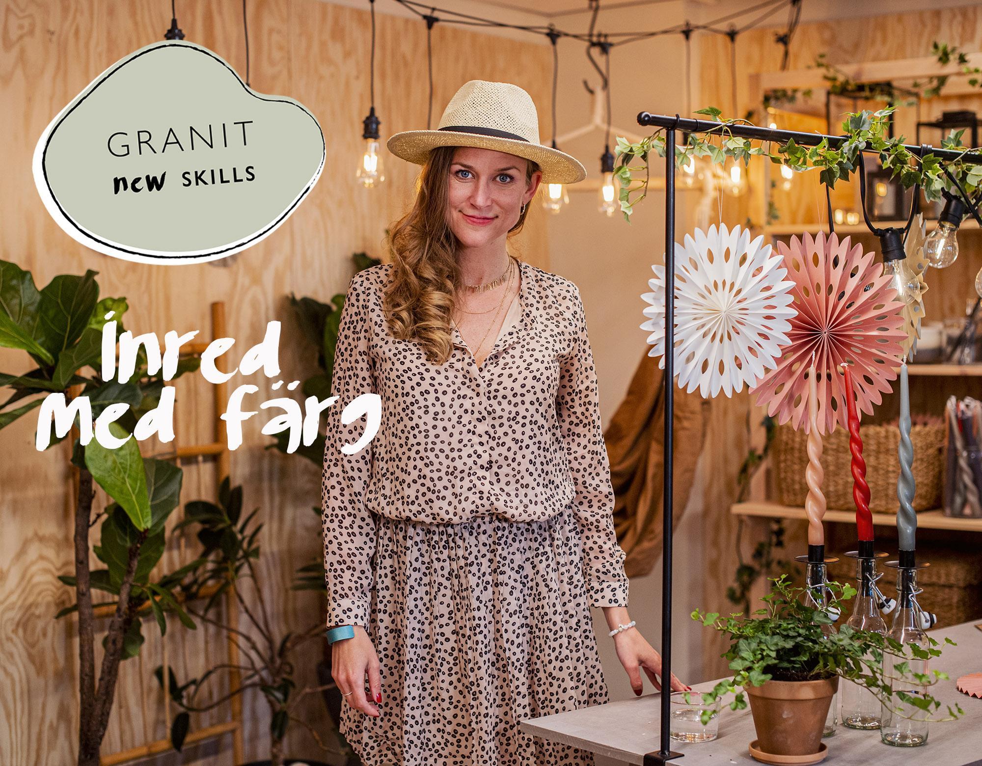 Inred med färg - workshop med Sara Garanty & Skillbreak