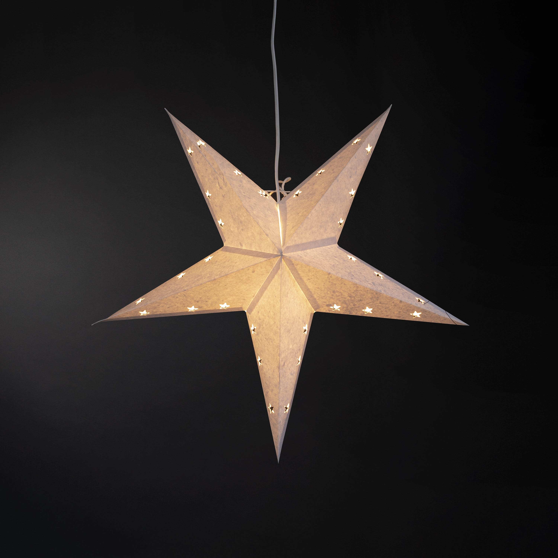 Stjärna 60cm Vit