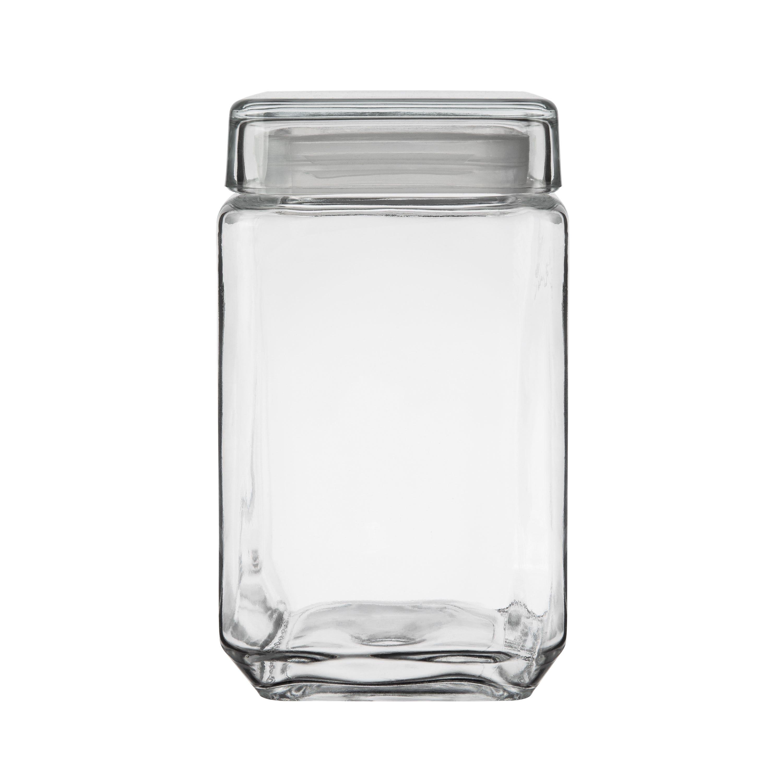 Glasburk Fyrkantig 1,6L