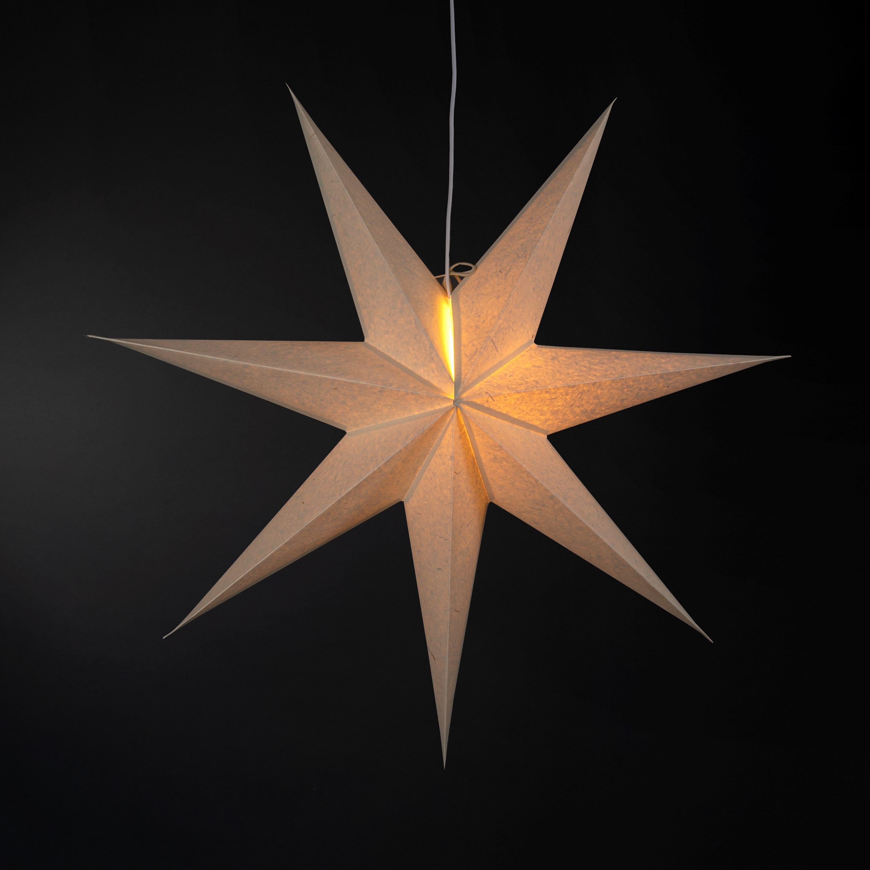 Stjärna 90cm Natur