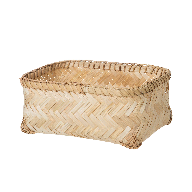 Korg Bambu Låg Liten