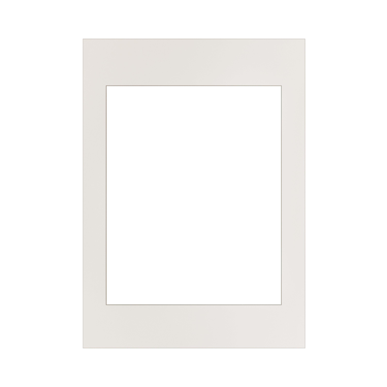 Passepartout 50x70 cm Vit