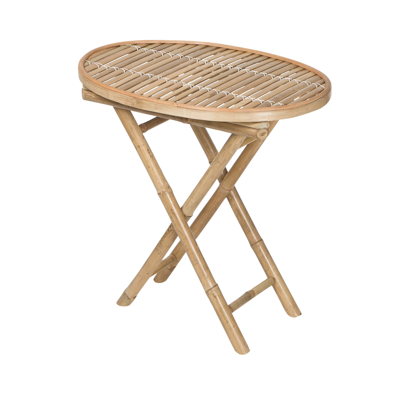Bord Oval Bambu