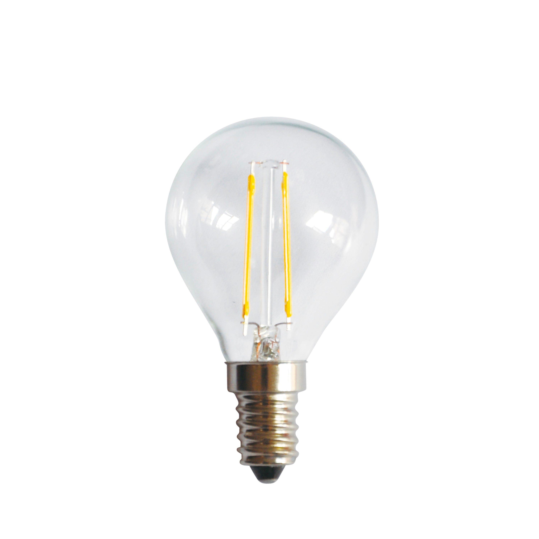 Ljuskälla E14 2W Klar