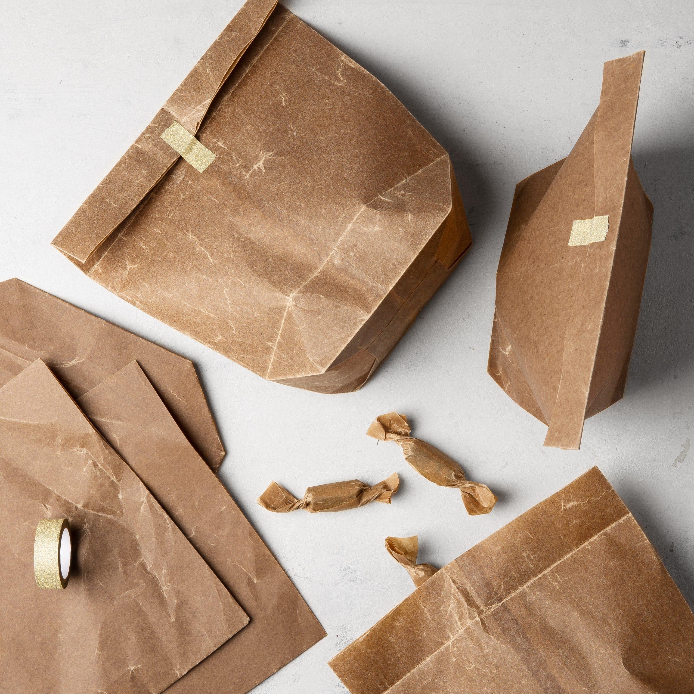 Papperspåsar Vaxade 5-pack