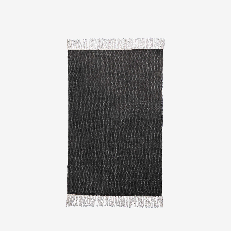 Matta Bomull Print Grå 60x90cm