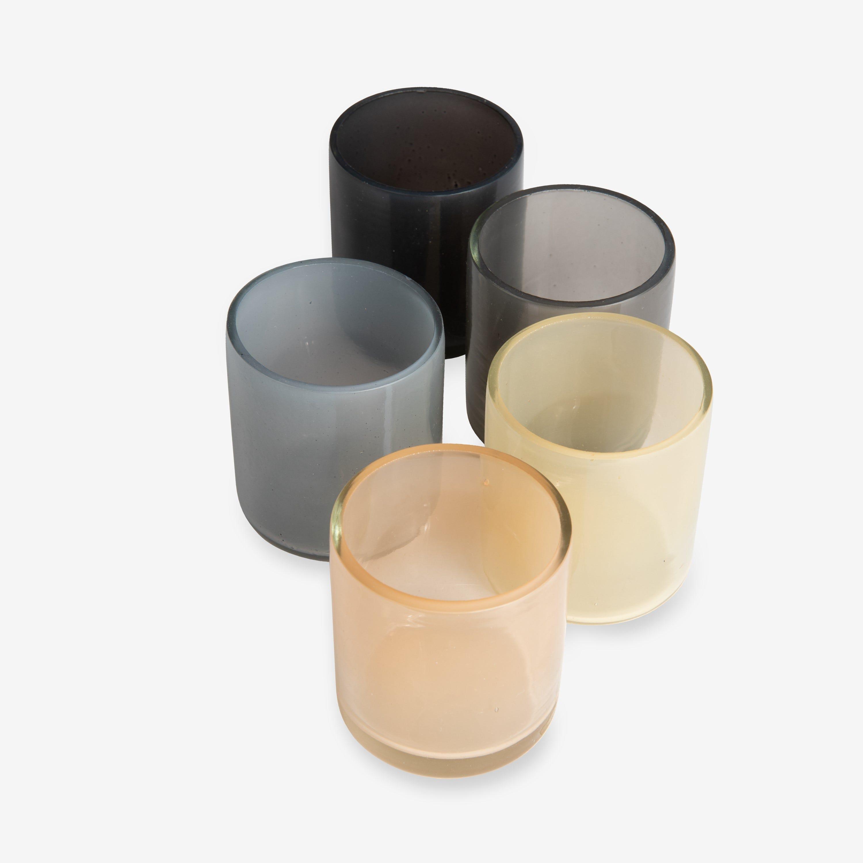 Ljushållare Glas 5-pack
