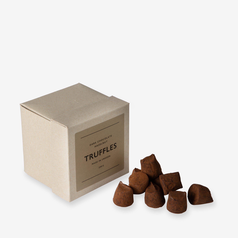 Mörk Chokladtryffel Hasselnöt