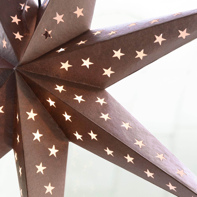 Stjärna 80cm Brons