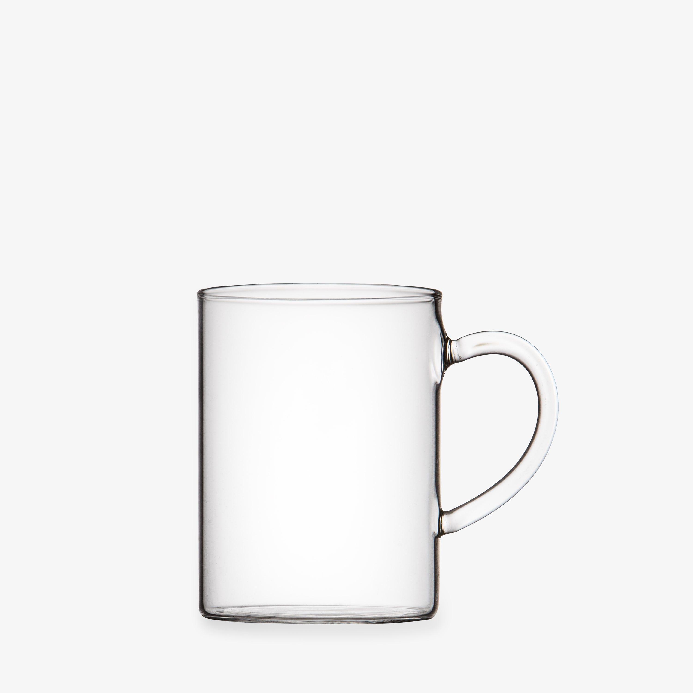 Mugg Glas Transparent 10cl