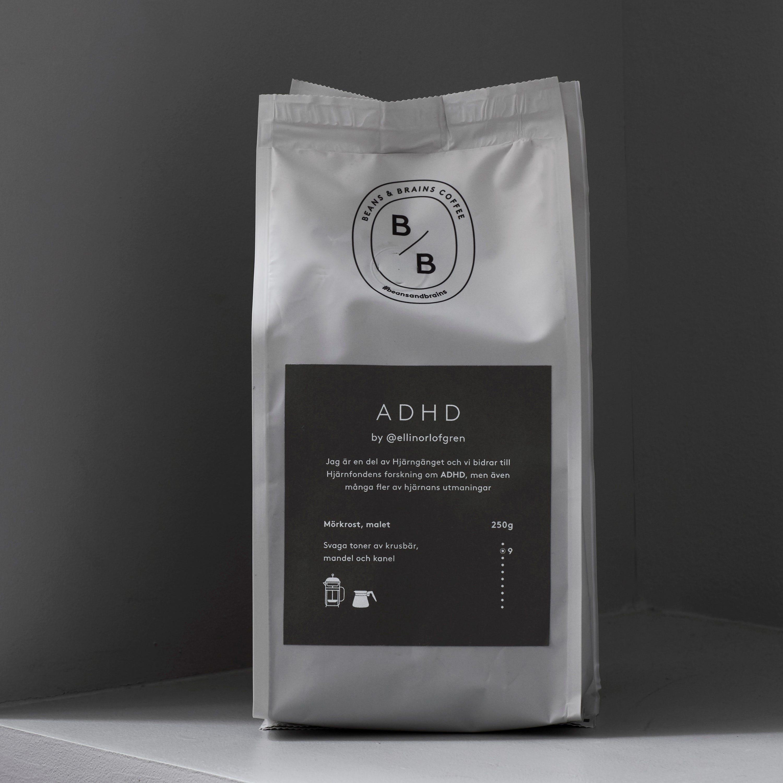 Svanfeldts ADHD Malet Kaffe 250g