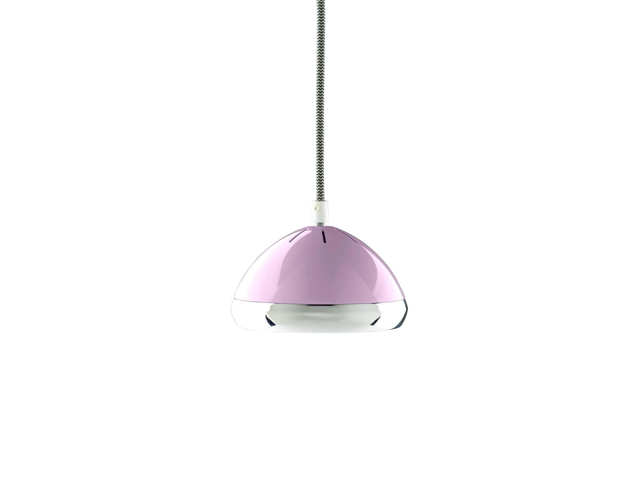 Wattson Pendant, G9 LED - Camellia Pink