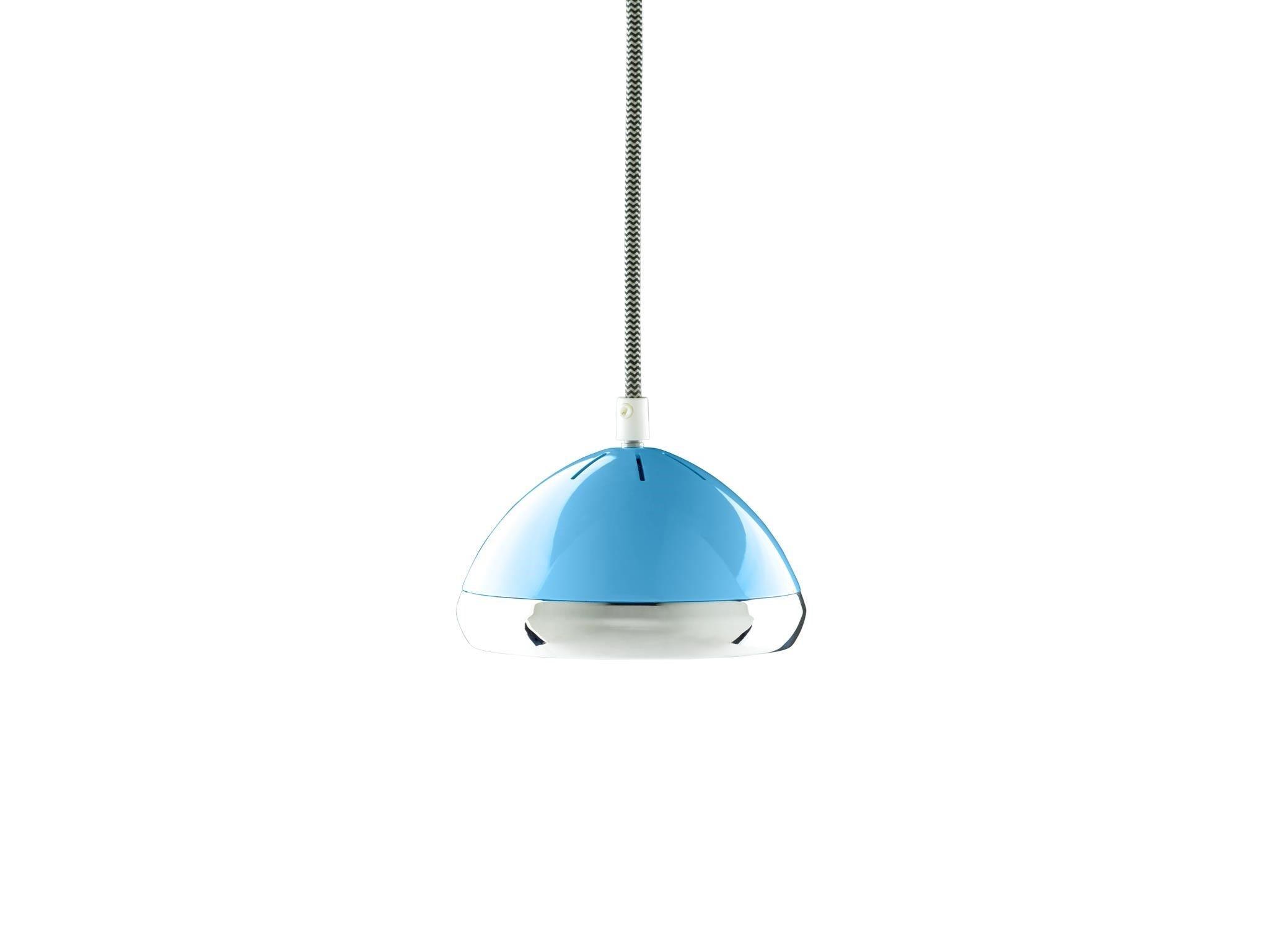 Wattson Pendant, G9 LED - Old Havana Blue