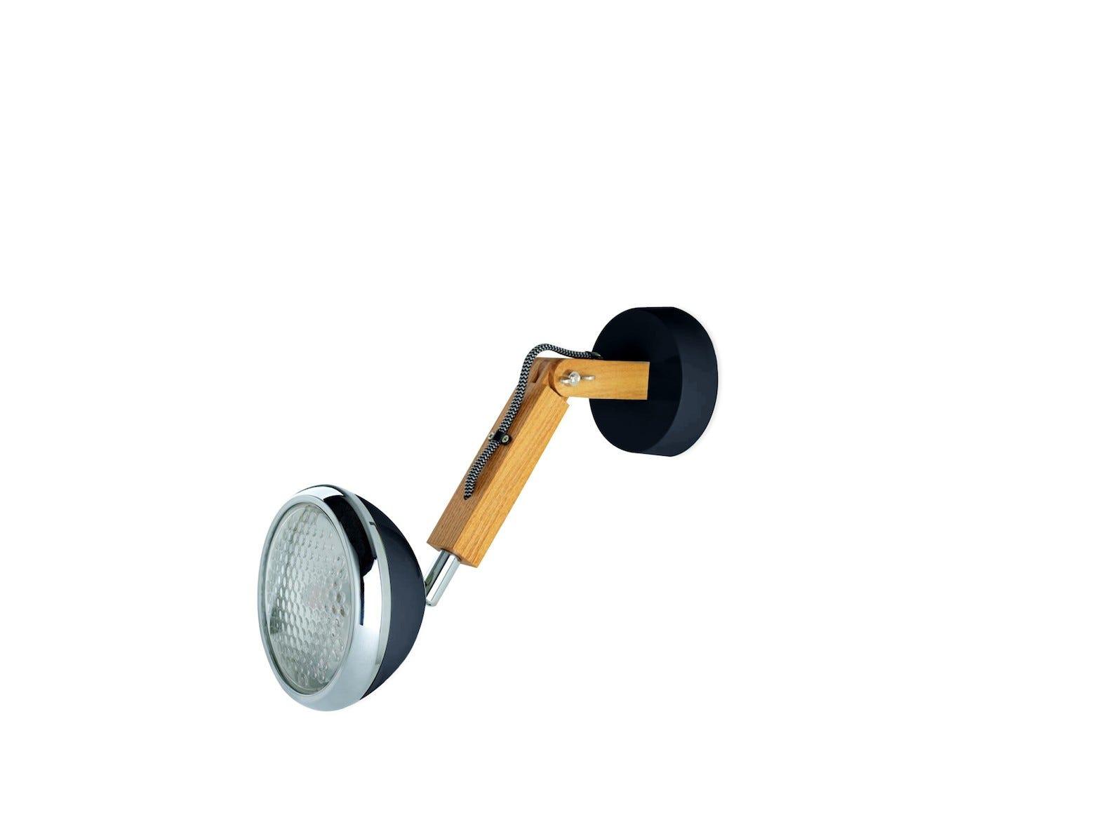 Wattson Wall Lamp, G9 LED Ash - Fashion Black