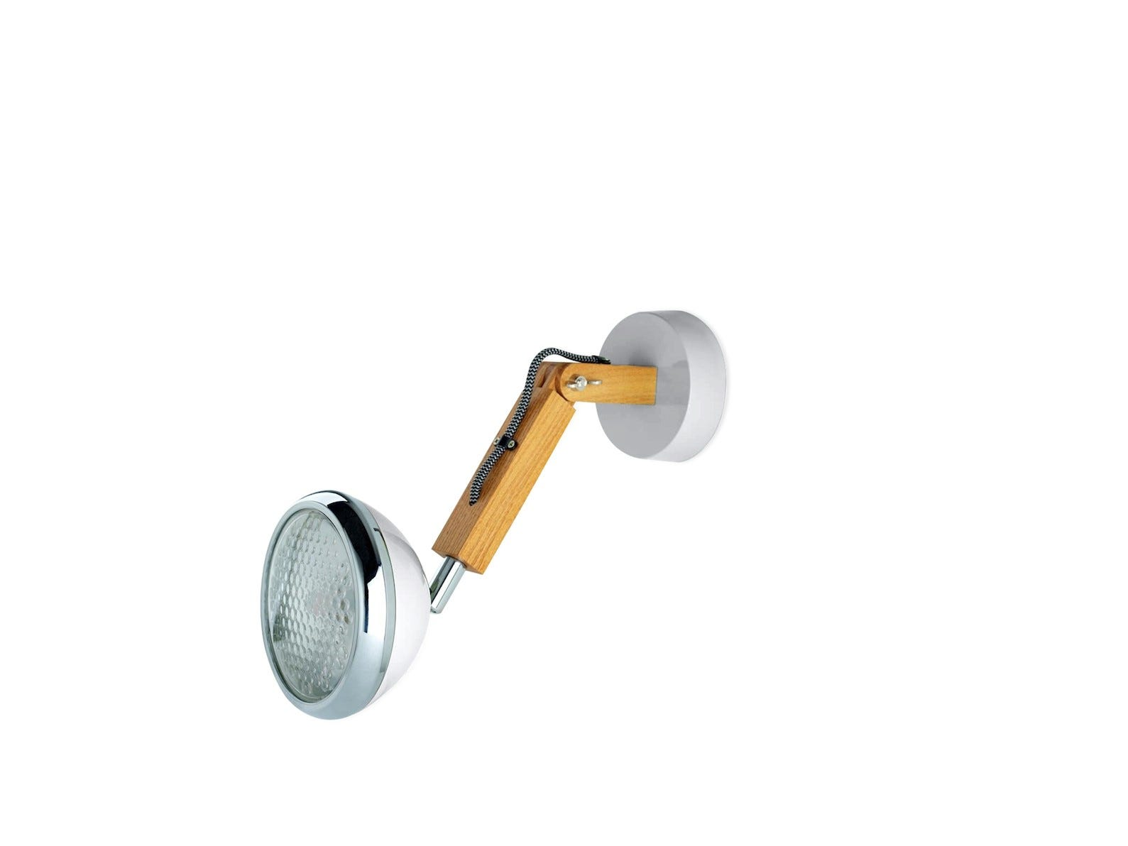 Wattson Wall Lamp, G9 LED Ash - Nardo Grey