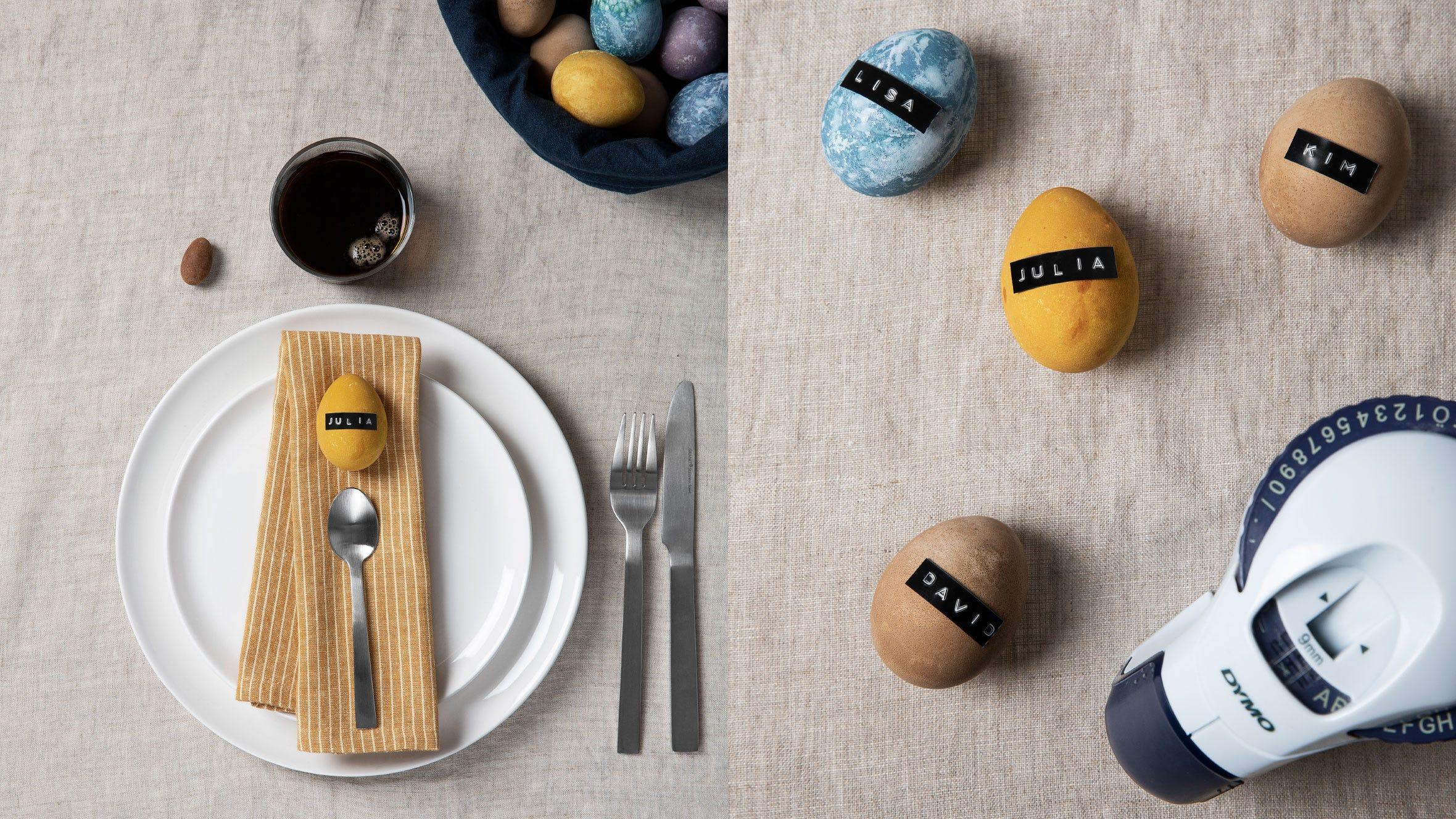 Natur-färga & dekorera dina ägg!