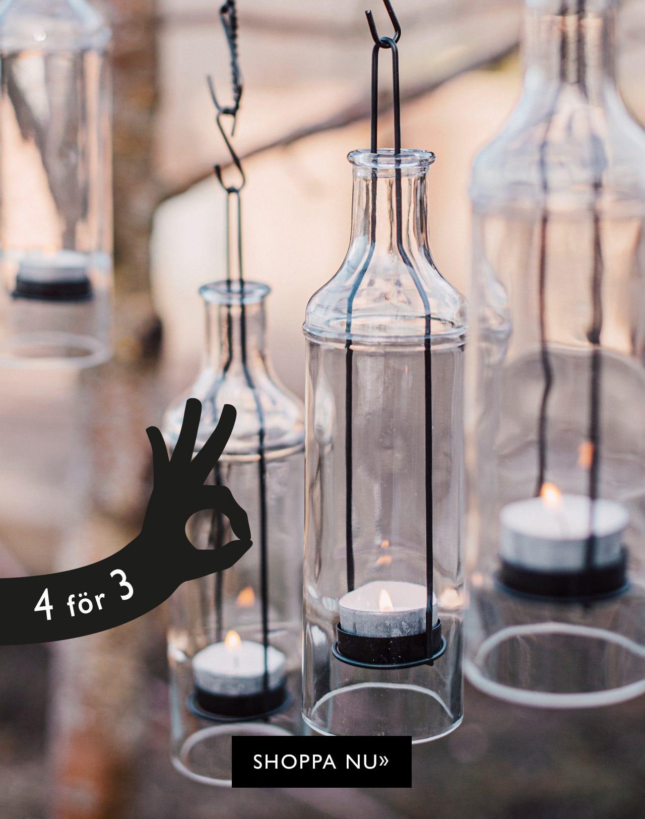 Community-erbjudande: Köp 4 hänglyktor betala för 3