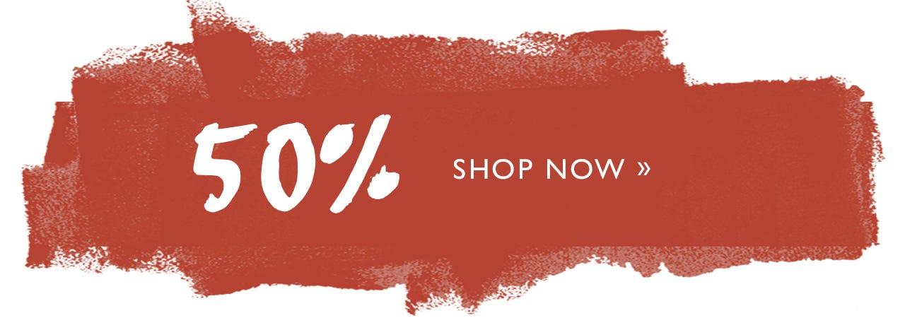 Sale 50% off!