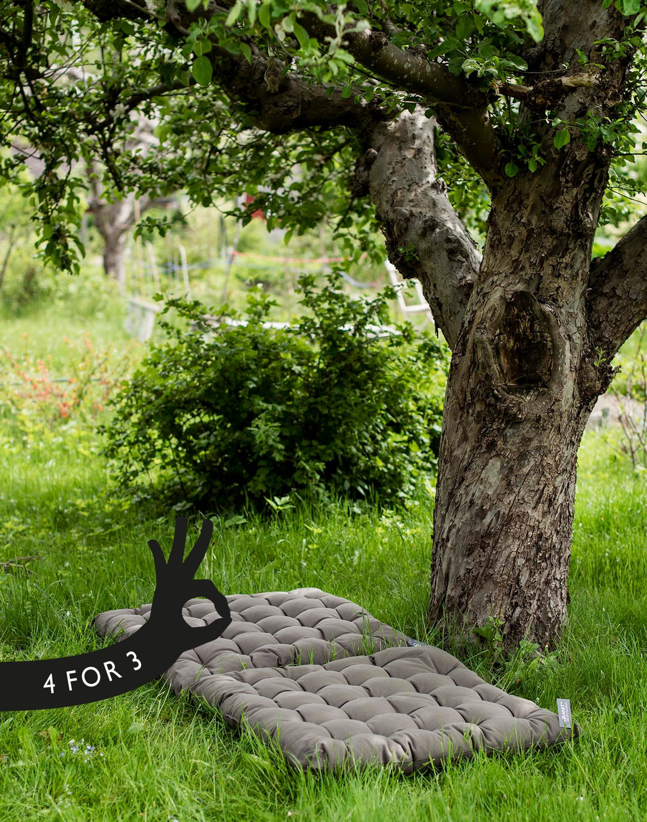 Member deal - 4 for 3 Outdoor cushions