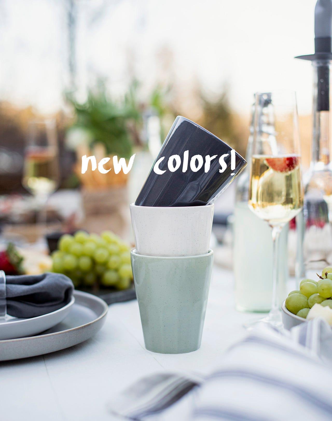 Mugs - new colors!